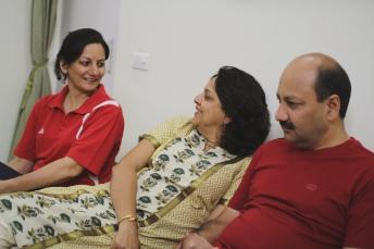 My mum & her siblings // New Delhi